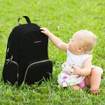 Best-Baby-Diaper-Bag-Backpack-for-Stylish-Women-The-Balance-Series-by-Ethan-Emma-Beautiful-Designer-Quality-Bags-for-Moms-Extra-Durable-for-Travel-Tons-of-Organizer-Pockets-Space-0-7