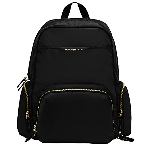 Best-Baby-Diaper-Bag-Backpack-for-Stylish-Women-The-Balance-Series-by-Ethan-Emma-Beautiful-Designer-Quality-Bags-for-Moms-Extra-Durable-for-Travel-Tons-of-Organizer-Pockets-Space-0