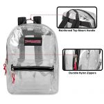 Clear-Backpack-With-Reinforced-Straps-Front-Accessory-Pocket-Perfect-for-School-Security-Sporting-Events-0-0