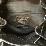 Coach-Pebbled-Leather-Backpack-F37410-Black-0-2