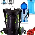 FREEMOVE-Hydration-Pack-Camel-Backpack-2-Liter-Water-Bladder-Cooler-Bag-External-Pocket-Lightweight-Fully-Adjustable-Leakproof-10L-Hydration-Backpack-Gear-for-Hiking-Cycling-Running-0