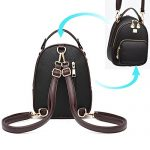 Gashen-Womens-Mini-Backpack-PU-Leather-Purse-Casual-Drawstring-Daypack-Convertible-Fixed-Shape-Shoulder-Bag-0-0