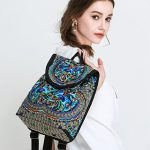 Goodhan-Vintage-Women-Embroidery-Ethnic-Backpack-Travel-Handbag-Shoulder-Bag-Mochila-0-5