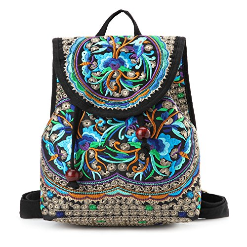 Goodhan-Vintage-Women-Embroidery-Ethnic-Backpack-Travel-Handbag-Shoulder-Bag-Mochila-0