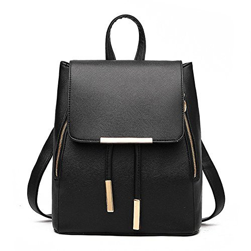 Huabor-Fashion-Shoulder-Bag-Rucksack-PU-Leather-Women-Girls-Ladies-Backpack-Travel-bag-0