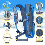 Hydration-Backpack-Pack-With-2L-Water-Bladder-For-MenWomenKidsPerfect-For-Outdoor-DaypackSportRunningHikingCyclingSkiingBikingCamping-Lightweight-bag-Waist-StrapsWaterproof-BPA-FREEBlue-0-1