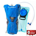 Hydration-Backpack-Pack-With-2L-Water-Bladder-For-MenWomenKidsPerfect-For-Outdoor-DaypackSportRunningHikingCyclingSkiingBikingCamping-Lightweight-bag-Waist-StrapsWaterproof-BPA-FREEBlue-0