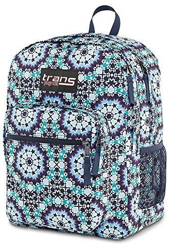 JanSport-6437427-Trans-Backpack-Supermax-Moonshine-Moroccan-Design-0