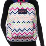 JanSport-Mens-Superbreak-Back-Pack-Cyber-Pink-Summer-Chevron-One-Size-0-4