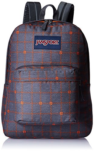JanSport-Mens-Superbreak-Back-Pack-Shady-Grey-Stitch-Plaid-One-Size-0