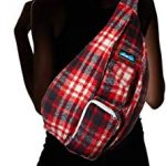 KAVU-Plaid-Rope-Sling-Bag-Crossbody-Backpack-0-2