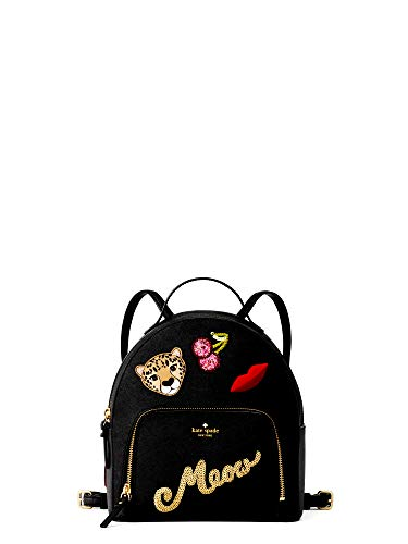 Kate-Spade-Womens-Black-Run-Wild-Leopard-Tomi-Small-Backpack-0