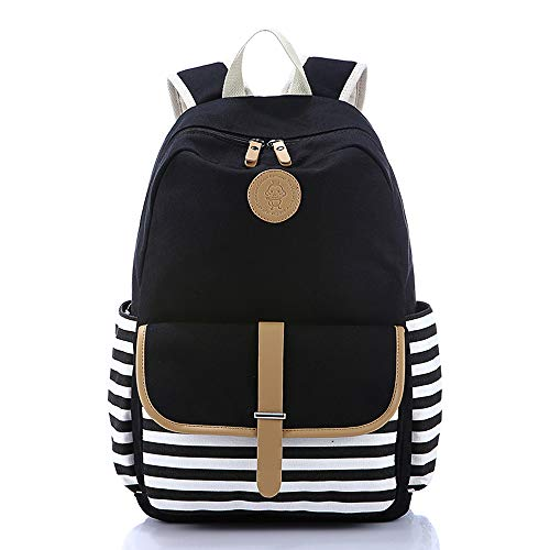 Lightweight-Canvas-Backpack-Fashion-School-Bag-Outdoor-Travel-Laptop-Backpacks-0