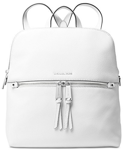 Michael-Michael-Kors-Rhea-Slim-Leather-Backpack-Optic-White-0