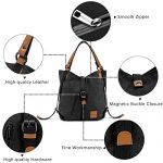 Multifunctional-Canvas-Bag-JOSEKO-Women-Convertible-Backpack-Purse-Ladies-Shoulder-Bag-Casual-Handbag-0-5