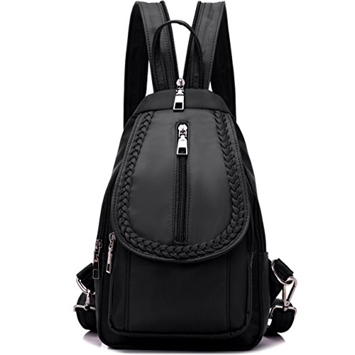NOVOSACO-Girls-Convertible-Nylon-Mini-Backpack-Purse-Cross-Body-Sling-Shoulder-Bag-0