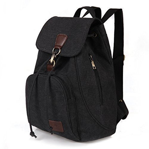 Qyoubi-Womens-Canvas-Fashion-Backpacks-Purse-Casual-Outdoor-Shopping-Daypacks-School-Girls-Travel-Multipurpose-Bag-0