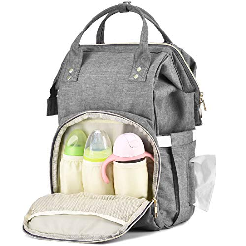 REEBOWGER-Outdoor-Diaper-Bag-Backpack-Multi-Function-Large-Capacity-Nappy-Bags-0