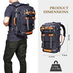 WITZMAN-Canvas-Backpack-Vintage-Travel-Backpack-Hiking-Luggage-Rucksack-Laptop-Bags-0-5