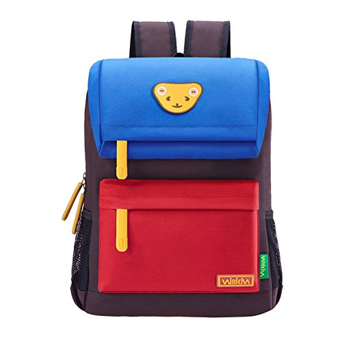 Willikiva-Cute-Bear-Kids-School-Backpack-for-Children-Elementary-School-Bags-Book-Bags-0
