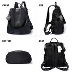 Women-Backpack-Purse-Waterproof-Nylon-Anti-theft-Rucksack-Lightweight-School-Shoulder-Bag-0-1