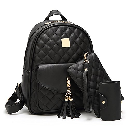 Womens-Simple-Design-Fashion-Quilted-Casual-Backpack-Leather-Backpack-for-Women-0