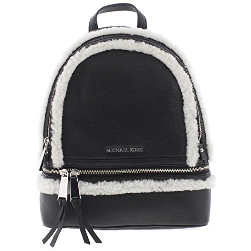 MICHAEL-Michael-Kors-Rhea-Zip-Medium-Leather-Backpack-BlackNatural-0