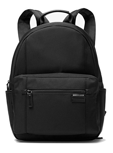 Michael-Kors-Travis-Large-Canvas-Backpack-Black-0