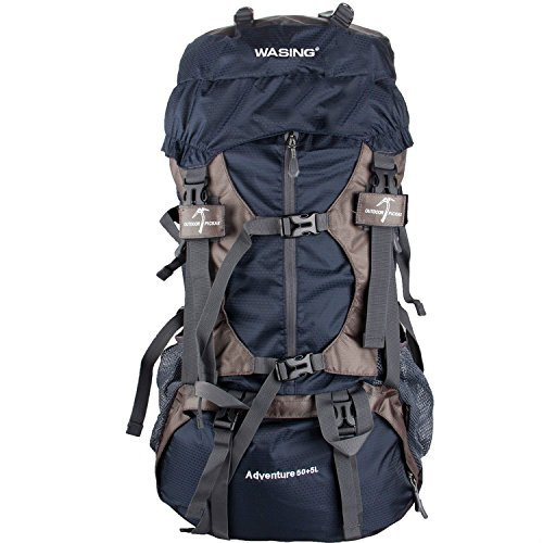 WASING-55L-Internal-Frame-Backpack-Hiking-Backpacking-Packs-for-Outdoor-Hiking-Travel-Climbing-Camping-Mountaineering-with-Rain-Cover-WS-55Lpack-0