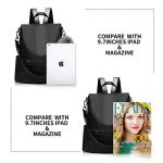 Women-Backpack-Purse-Nylon-Anti-theft-Waterproof-Casual-Convertible-Rucksack-Lightweight-School-Shoulder-Bag-0-3