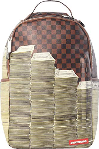 Sprayground-Unisex-Adult-Checker-Money-Stacks-Backpack-0
