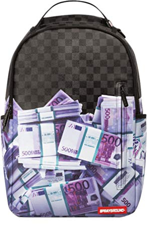 Sprayground-Unisex-Adult-Euro-Money-Stacks-Backpack-0