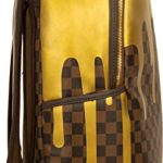 Sprayground-Unisex-Adult-Gold-Checker-Drips-Backpack-0-1