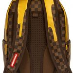 Sprayground-Unisex-Adult-Gold-Checker-Drips-Backpack-0-2