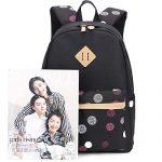 LuckyZ-Women-Casual-Backpack-Lightweight-Canvas-Daykpack-Cute-Laptop-Bag-School-Backpacks-Bookbag-0-3