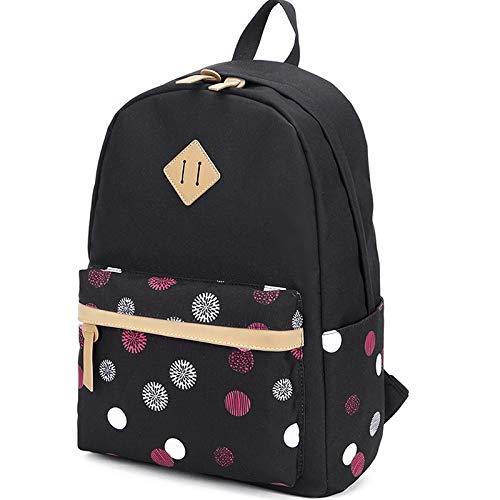 LuckyZ-Women-Casual-Backpack-Lightweight-Canvas-Daykpack-Cute-Laptop-Bag-School-Backpacks-Bookbag-0